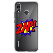 "Huawei P20 Lite silicone phone case with unique design 1.0 mm ""u-case Airskin ZAP design"""