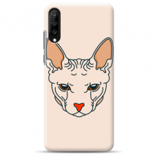 "Huawei P20 silicone phone case with unique design 1.0 mm ""u-case Airskin Kato design"""