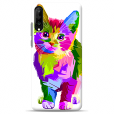 "Huawei P20 silicone phone case with unique design 1.0 mm ""u-case Airskin Kitty design"""
