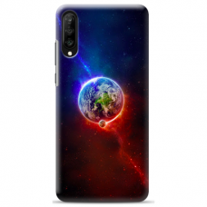 "Huawei P20 silicone phone case with unique design 1.0 mm ""u-case Airskin Nature 4 design"""