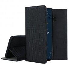 huawei p30 lite Eco leather flip case Mocco Smart Magnet black