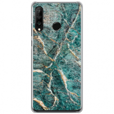 "Huawei P30 Lite silikona tālruņa vāciņš ar unikālu dizainu 1,0 mm ""u-case Airskin Marble 1 design"""