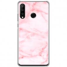 "Huawei P30 Lite silikona tālruņa vāciņš ar unikālu dizainu 1,0 mm ""u-case Airskin Marble 5 design"""