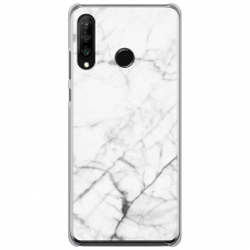 "Huawei P30 Lite silikona tālruņa vāciņš ar unikālu dizainu 1,0 mm ""u-case Airskin Marble 6 design"""