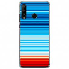 """Huawei P30 Lite silikona tālruņa vāciņš ar unikālu dizainu 1,0 mm """"u-case Airskin Pattern 2 design"""""""