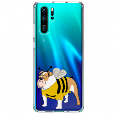 "Huawei P30 pro silicone phone case with unique design 1.0 mm ""u-case Airskin Doggo 1 design"""