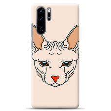 "Huawei P30 pro silicone phone case with unique design 1.0 mm ""u-case Airskin Kato design"""
