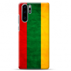 "Huawei P30 pro silicone phone case with unique design 1.0 mm ""u-case Airskin Lietuva design"""