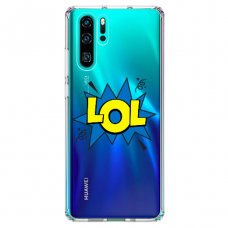 "Huawei P30 pro silicone phone case with unique design 1.0 mm ""u-case Airskin LOL design"""