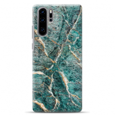 "Huawei P30 pro silicone phone case with unique design 1.0 mm ""u-case airskin Marble 3 design"""