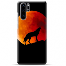 "Huawei P30 pro silicone phone case with unique design 1.0 mm ""u-case Airskin Nature 3 design"""