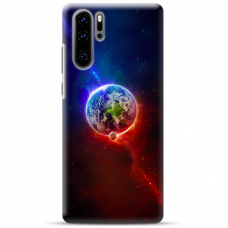 "Huawei P30 pro silicone phone case with unique design 1.0 mm ""u-case Airskin Nature 4 design"""