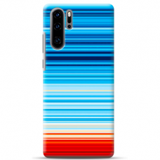 "Huawei P30 pro silicone phone case with unique design 1.0 mm ""u-case airskin Pattern 3 design"""