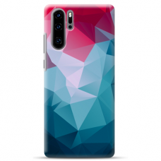 "Huawei P30 pro silicone phone case with unique design 1.0 mm ""u-case Airskin Pattern 8 design"""