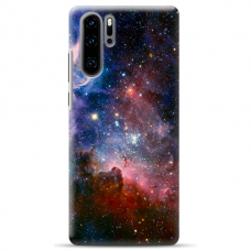"Huawei P30 pro silicone phone case with unique design 1.0 mm ""u-case Airskin Space 2 design"""