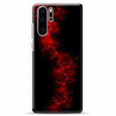 "Huawei P30 pro silicone phone case with unique design 1.0 mm ""u-case Airskin Space 3 design"""