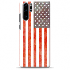 "Huawei P30 pro silicone phone case with unique design 1.0 mm ""u-case Airskin USA design"""