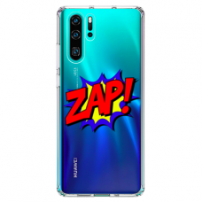 "Huawei P30 pro silicone phone case with unique design 1.0 mm ""u-case airskin ZAP design"""