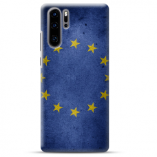 "Huawei P30 pro silicone phone case with unique design 1.0 mm ""u-case airskin EU design"""