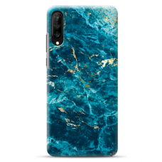 "Huawei P30 silicone phone case with unique design 1.0 mm ""u-case Airskin Marble 2 design"""