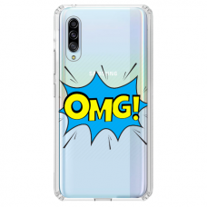 "Huawei P30 silicone phone case with unique design 1.0 mm ""u-case Airskin OMG design"""
