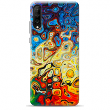 "Huawei P30 silicone phone case with unique design 1.0 mm ""u-case Airskin Pattern 1 design"""