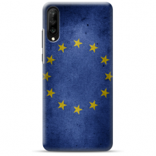 "Huawei P30 silicone phone case with unique design 1.0 mm ""u-case airskin EU design"""