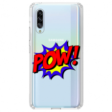 "Huawei P30 silicone phone case with unique design 1.0 mm ""u-case airskin POW design"""
