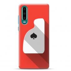 """Huawei P30 Unique Silicone Case 1.0 mm """"u-case Airskin Ace design"""""""