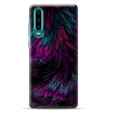 "Huawei P30 Unique Silicone Case 1.0 mm ""u-case Airskin Feather design"""