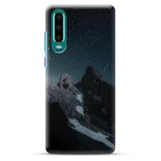 "Huawei P30 Unique Silicone Case 1.0 mm ""u-case Airskin Mountains 1 design"""