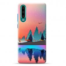 """Huawei P30 Unique Silicone Case 1.0 mm """"u-case Airskin Nature 5 design"""""""