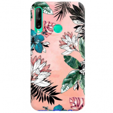 "Huawei P40 Lite E Unique Silicone Case 1.0 mm ""u-case Airskin Flowers 1 design"""