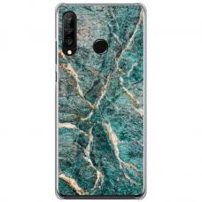 "Huawei P40 Lite E Unique Silicone Case 1.0 mm ""u-case airskin Marble 1 design"""