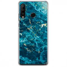 "Huawei P40 Lite E Unique Silicone Case 1.0 mm ""u-case Airskin Marble 2 design"""