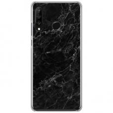 "Huawei P40 Lite E Unique Silicone Case 1.0 mm ""u-case Airskin Marble 4 design"""