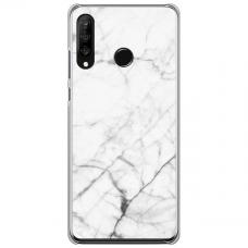 "Huawei P40 Lite E Unique Silicone Case 1.0 mm ""u-case Airskin Marble 6 design"""