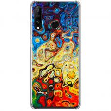 """Huawei P40 Lite E Unique Silicone Case 1.0 mm """"u-case Airskin Pattern 1 design"""""""
