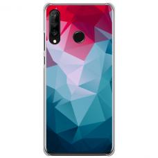 """Huawei P40 Lite E Unique Silicone Case 1.0 mm """"u-case Airskin Pattern 8 design"""""""