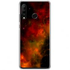 """Huawei P40 Lite E Unique Silicone Case 1.0 mm """"u-case Airskin Space 1 design"""""""