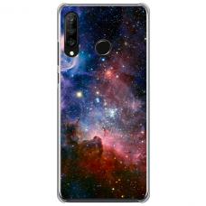 """Huawei P40 Lite E Unique Silicone Case 1.0 mm """"u-case Airskin Space 2 design"""""""