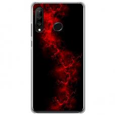 """Huawei P40 Lite E Unique Silicone Case 1.0 mm """"u-case Airskin Space 3 design"""""""
