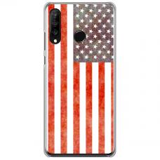 "Huawei P40 Lite E Unique Silicone Case 1.0 mm ""u-case Airskin USA design"""