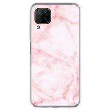 "Huawei P40 Lite Unique Silicone Case 1.0 mm 1.0 mm ""u-case airskin Marble 5 design"""