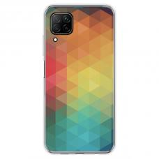 """Huawei P40 Lite Unique Silicone Case 1.0 mm 1.0 mm """"u-case airskin Pattern 3 design"""""""