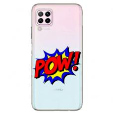 "Huawei P40 Lite Unique Silicone Case 1.0 mm 1.0 mm ""u-case airskin POW design"""