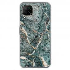 "Huawei P40 Lite Unique Silicone Case 1.0 mm ""u-case airskin Marble 1 design"""