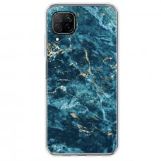 "Huawei P40 Lite Unique Silicone Case 1.0 mm ""u-case Airskin Marble 2 design"""