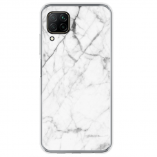 "Huawei P40 Lite Unique Silicone Case 1.0 mm ""u-case Airskin Marble 6 design"""