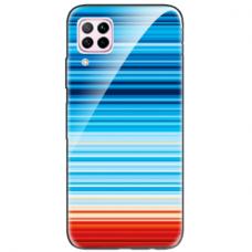 """Huawei P40 Lite Unique Silicone Case 1.0 mm """"u-case airskin Pattern 2 design"""""""
